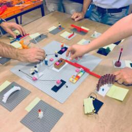 Adriano Community Center - Strategia